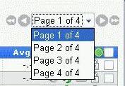 Выбор номера страницы