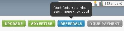 Кнопка Referrals